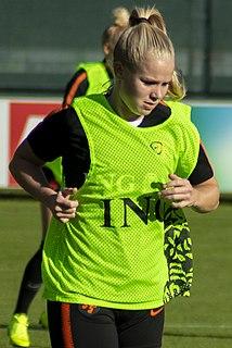 Kika van Es Dutch footballer