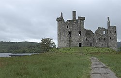Kilchurn castle wikipedia for Castle haven cabins