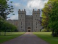 King George IV Gate in the South Wing of Castle. Windsor, UK.jpg