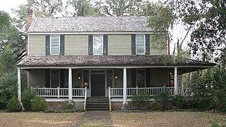 Scott House (Kingstree, South Carolina) - Scott House, January 2013