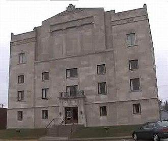 Masonic Temple (Kirksville, Missouri) - Image: Kirksville Masonic 1