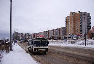 Kirovo-Chepetsk Town in Kirov Oblast, Russia