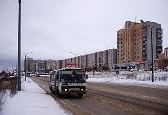 Kirovo-Chepetsk - 60 Let Oktyabrya Street in Kirovo-Chepetsk