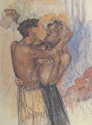 Kuzma Petrov-Vodkin - Image: Kiss (Petrov Vodkin)