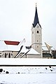Klagenfurt Viktring Stiftskirche Nord-Ansicht 25012010 266.jpg