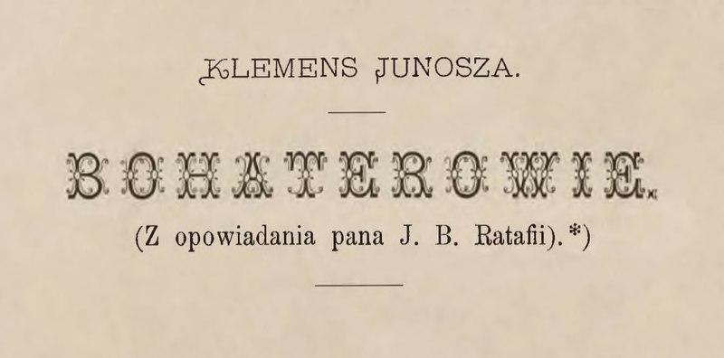 File:Klemens Junosza - Bohaterowie.djvu