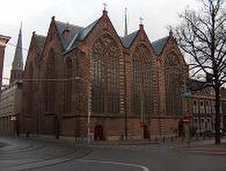 Kloosterkerk, The Hague - Image: Kloosterkerk Den Haag
