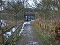 Knarr Lane Bridge over The Delph Donkey - geograph.org.uk - 1164502.jpg