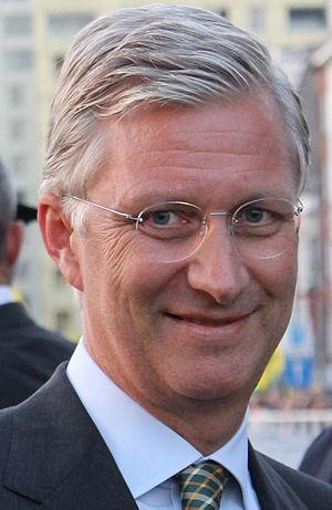 Philippe of Belgium - Philippe in Antwerp, 2013