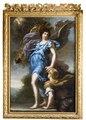 Konung Karl XIs skyddsängel. Allegori (David Klöcker Ehrenstrahl) - Nationalmuseum - 174861.tif