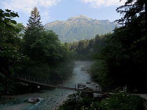 Koritnica (river) - Image: Koritnica River Slovenia