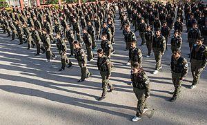Asayish (Rojava cantons) - Image: Kurdish YPG Fighters (15943141741)