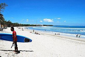 Badung Regency - Image: Kuta beach