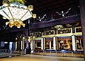 Kyoto Nishi Hongan-ji Amidahalle Innen 3.jpg