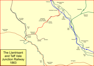 Llantrisant and Taff Vale Junction Railway - The Llantrisant and Taff Vale Junction Railway