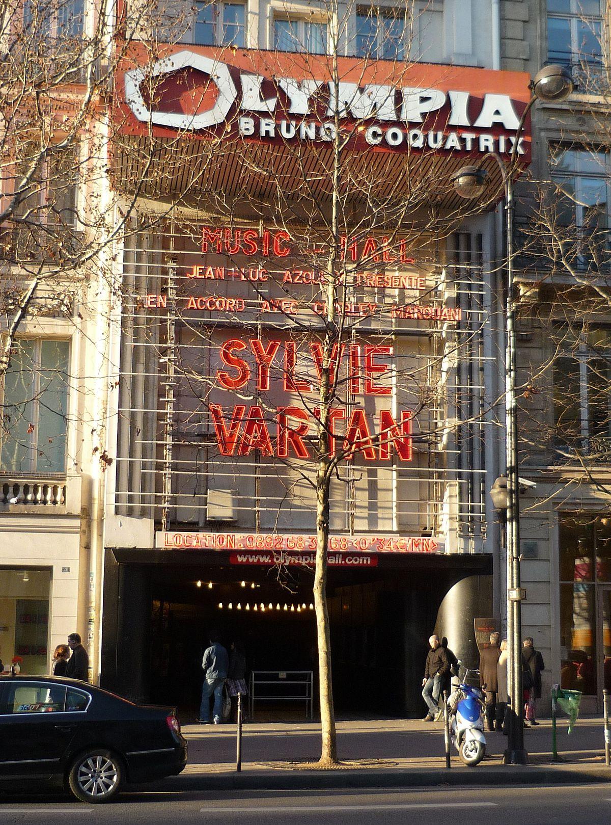 Olympia Paris Wikipedia