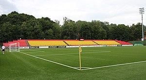 FK Trakai - LFF stadium's Eastern stand.
