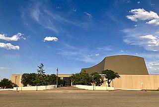 Lubbock Memorial Civic Center building in Texas, United States