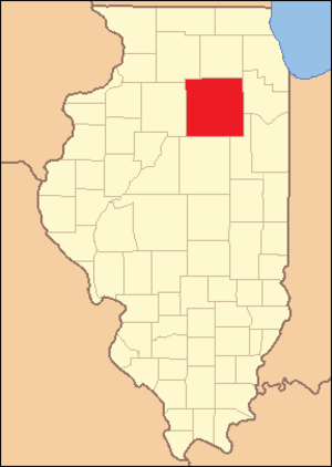 LaSalle County, Illinois - Image: La Salle County Illinois 1836