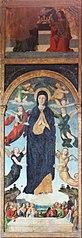 l'Assomption de la Vierge magnifique, le Couronnement de la Vierge