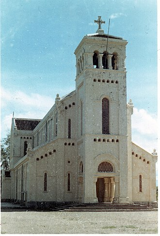 Our Lady of La Vang - Church of Our Lady of La Vang, built in 1928 and destroyed in 1972 during the war