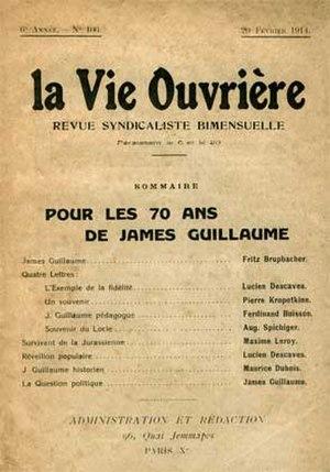 La Nouvelle Vie Ouvrière - La Vie Ouvrière 20 February 1914
