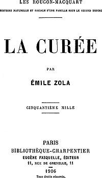 La Curée cover