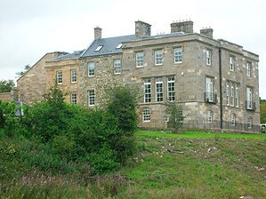 Stewarton - The restored Lainshaw House in 2007