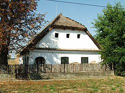 Traditional house in Istvándi
