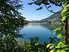 Lake Ägeri (Ägerisee) at Morgarten