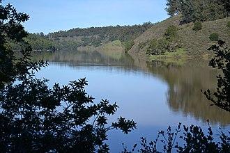 Lake Chabot Regional Park - Image: Lake Chabot 1