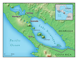 Lake Nicaragua - Image: Lake Nicaragua 2