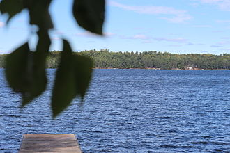 Lake of Bays (Muskoka lake) - Image: Lake of Bays, with dock