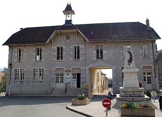 Lantenay, Côte-d'Or - Town hall
