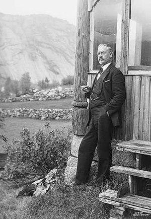 1958 in Norway - Lars Osa in 1929