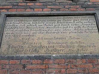 Abraham Pelt - Commemorative plaque