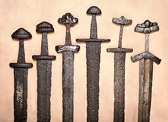 Finland - Late Iron Age swords found in Finland