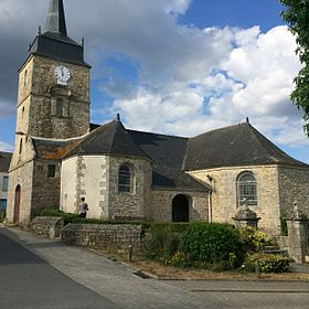 L'église Sainte-Christine