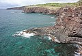 Lava Flows at Hulopoe Bay Lanai Hawaii 3.jpg