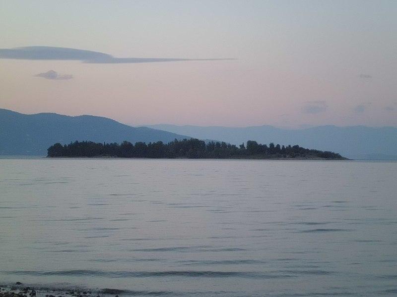 Lazaretto island in Poros