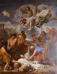 La Lapidation de saint Étienne by Charles Le Brun