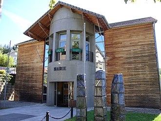 Le Chambon-sur-Lignon - The town hall in Le Chambon-sur-Lignon