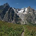 Le Grandes Jorasses - Vallone del Maratrà, Courmayeur, Aosta, Italy 07 - August 8, 2016.jpg