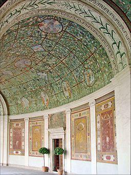 Le portique peint de la Villa Giulia (Rome) (5883306255)