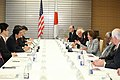 Leader Pelosi and Members of Congressional Delegation Meet Japan's PM Abe (17063512775).jpg