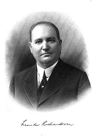 Albert D. Richardson - Leander P. Richardson