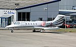 Lear Jet 35 C-GUAC. (12935702704).jpg
