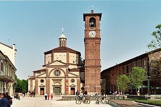 Legnano - Basilica Church of San Magno.