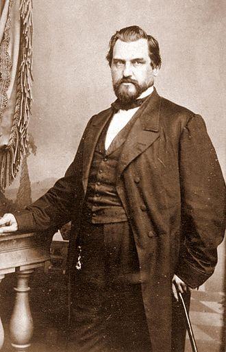 Leland Stanford - Stanford circa 1870
