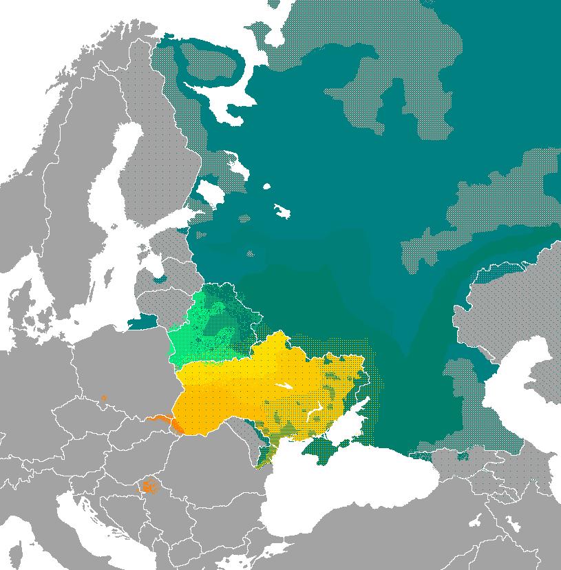 Lenguas eslavas orientales